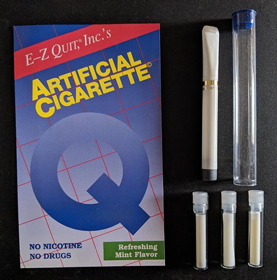 E-Z Quit ArtificialCigarette Starter Kit (1 ArtificialCigarette + 3 Cartridges)