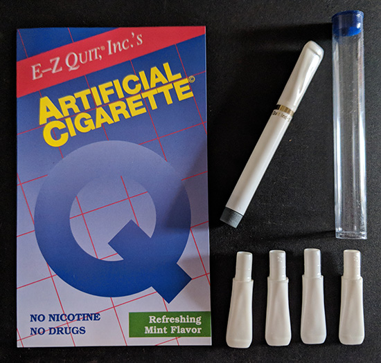 Pack of 1 ArtificialCigarette + 4 Mouthpieces (No Cartridge Refills Included)