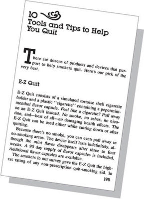 10 Tools and Tips to Help You Quit
